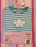 Пижама махровая для девочки Impidimpi, 2-6 мес, фото 2