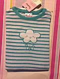 Пижама махровая для девочки Impidimpi, 2-6 мес, фото 5