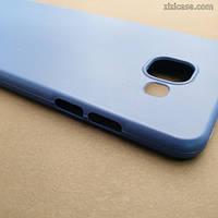 Матовый синий чехол для Samsung A510