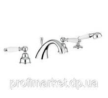 Змішувач для ванни врізний Emmevi Deco Ceramic 121120