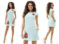 Платье вышивка 37/7192