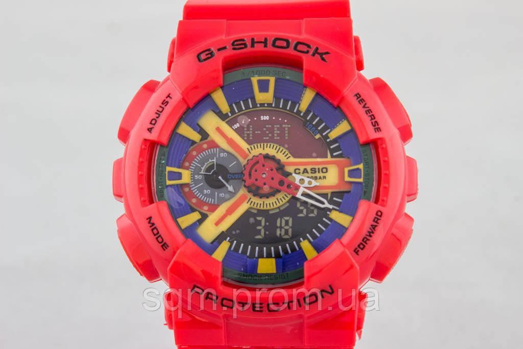 e3b59c66c3b0 Распродажа! Яркие спортивные часы Casio G-Shock ga-110 Red: продажа ...