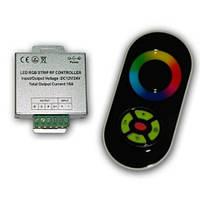Контроллер RGB 18А-RF-5 Touch черный