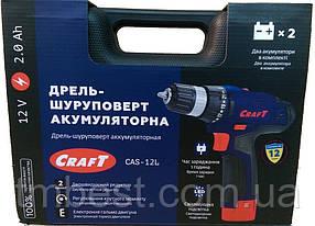 Шуруповерт акумуляторний CRAFT CAS-12L, фото 2