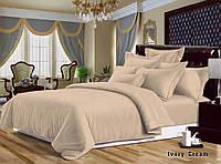 Комплект постельного белья Ivory Cream 715 двуспальный евро