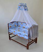 """КПЛ-23  """"Мішки в ліжку"""" колір блакитний"""
