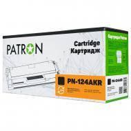 Совместимый картридж Patron PN-124AKR (HP LJ 1600 / COLOR LJ 1600 / COLOR LJ 2605 / COLOR LJ CM1015 / COLOR LJ CM1017 / Canon i-SENSYS LBP5000/ 5100)