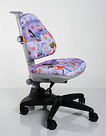 Детский стульчик Mealux Conan Y-317  Фиолетовый, Розовый, Серый с рисунками