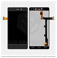 Дисплей для мобильных телефонов Fly IQ453,  черный, с сенсорным экраном