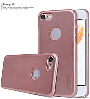 Nillkin Apple iPhone 7 Super Frosted Shield RoseGold Чехол Накладка Бампер