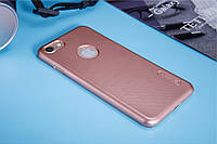 Nillkin Apple iPhone 7 Super Frosted Shield RoseGold Чехол Накладка Бампер
