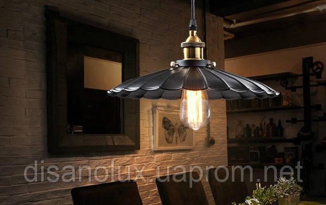 Светильник LOFT   WM-D1002  Ф41 см  Е27 black