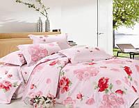 """Комплект постельного белья  """"Марго (розы)"""" двуспальный евро"""