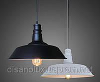 Светильник подвес LOFT  WM -D1012/W  Ф36см  white  с лампой, фото 2