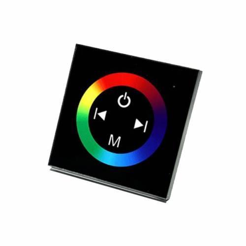 Контроллер RGB Biom 12A-Touch black встраиваемый