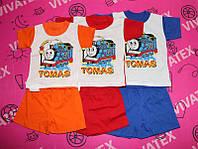 """Комплект для мальчиков """"Томас"""" на 2 года (красный)"""