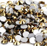Стразы Swarovski Dark gold SS3 (100 шт)