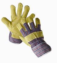 Перчатки кожаные комбинированные «Serin» код. 0101000699105