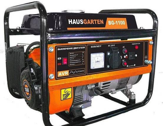 Бензогенератор HausGarten ВG-1100 (68268000) 1,1 кВт, р.с., фото 2