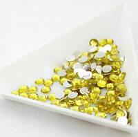 Стразы Swarovski yellow SS6 (100 шт), фото 1