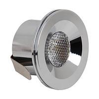 LED Светильник точечный HOROZ ELECTRIC мат.хром MIRANDA HL666L 3W 6400K