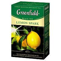 Чай  Greenfield Lemon Spark листовой 100г.