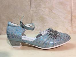 Нарядные детские туфли на девочку 27-34рр.  ТОМ.М