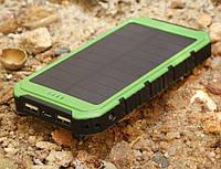 Solar Power Bank 10000mAh. Повер банк 10000. Портативное зарядное от Power Puls