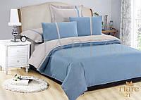 Комплект постельного белья 21 Т Сатин люкс Tiare гладь двуспальный евро