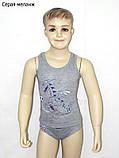 Дитячий комплект білизни для хлопчика *Дракон-футболіст*, фото 2