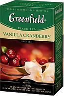 Чай  Greenfield Vanilla Cranberry листовой 100г.