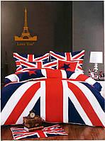 """Комплект постельного белья """"Англия"""" двуспальный евро"""