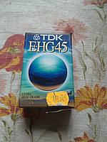 Видео кассета tdk e-hg45. Новая, в упаковке!