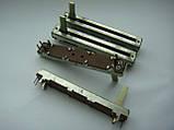 Фейдер 60мм  b50kx2 для Samson MPL1640, MPL2242, Carlsbro megamix 8dsp, MX18D, Soundking AS1602BD AS1202D, фото 2