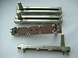 Фейдер 60мм  b50kx2 для Samson MPL1640, MPL2242, Carlsbro megamix 8dsp, MX18D, Soundking AS1602BD AS1202D, фото 3