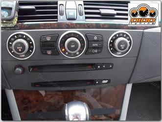 Кольца рамки на рачки печки BMW E60 мат
