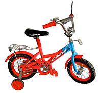 """Детский двухколесный велосипед 12 """" (171230) со звонком"""