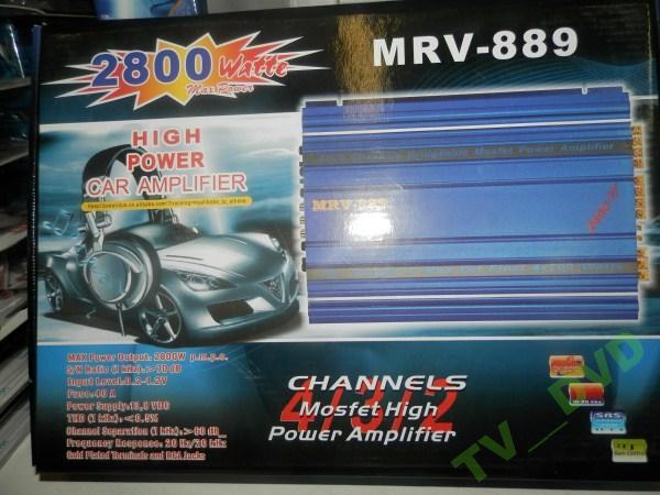 Усилитель звука MRV - 889 2800 Вт 4 КАНАЛА