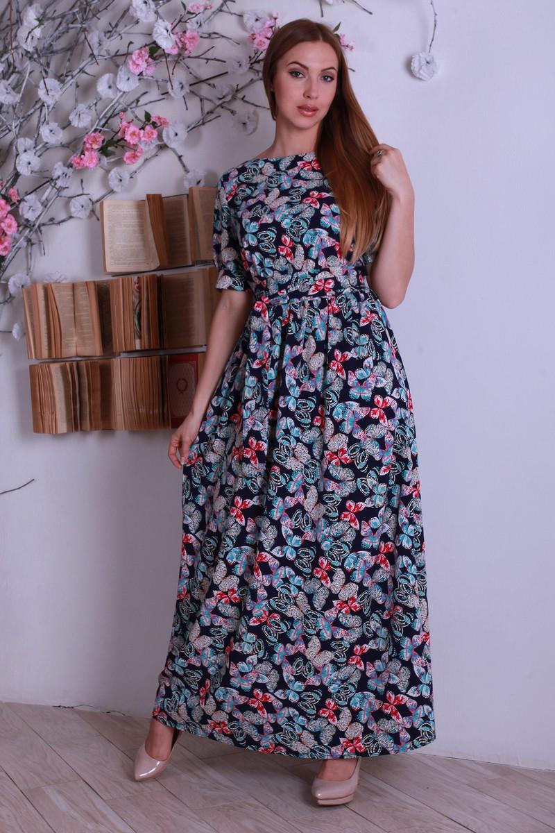 9d629aca218 Шикарное летнее платье в пол с бабочками - Exclusive в Хмельницком