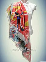 Шелковые, шифоновые, атласные платки Турция весна -лето