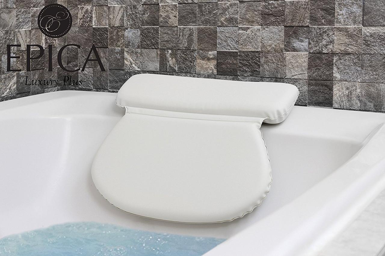 Ортопедическая подушка для ванной Epica 2X-Thick Luxury Spa Bath Pillow