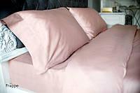 Комплект постельного белья Сатин Де Люкс Frappe двуспальный евро