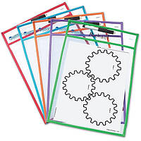 "Папка для занятий  ""Пиши и стирай"" Learning Resources"