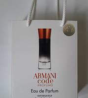 Мини парфюм мужской Giorgio Armani Armani Code Profumo в подарочной упаковке 50 ml