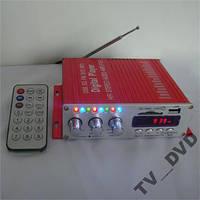 УСИЛИТЕЛЬ ЗВУКА  ПУЛЬТ  FM  USB SD  HY-2006