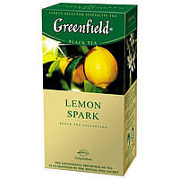 Чай  Greenfield Lemon Spark пакетированный 25 пак.