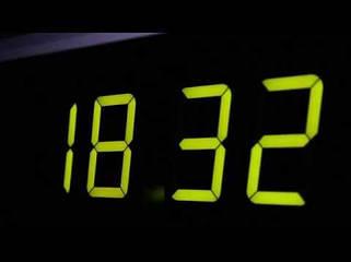 Часы сетевые