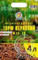 Торф для растений верховой 4л