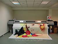 Широкоформатная печать, УФ печать с качеством 1440 dpi