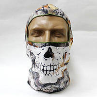 Балаклава маска с черепом клён WN-03